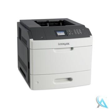 Lexmark MS811DN Laserdrucker mit 93.579 gedruckten Seiten Toner 80% Trommel 85%