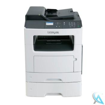 Lexmark MX310DN gebrauchtes Multifunktionsgerät mit Zusatzpapierfach mit neuem Toner