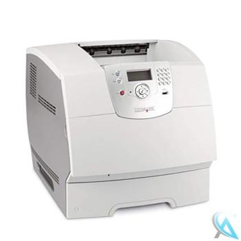 Lexmark T642N gebrauchter Laserdrucker mit neuem toner und neuer Trommel