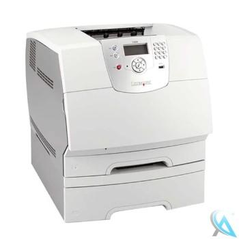 Lexmark T644N Laserdrucker mit Zusatzpapierfach 20G0890