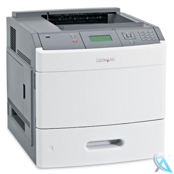 Lexmark T652n gebrauchter Laserdrucker mit neuem Toner