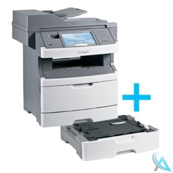 Lexmark X466de Multifunktionsgerät mit Zusatzpapierfach 34S0250