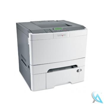 Lexmark C544TN gebrauchter Farblaserdrucker mit Papierfach