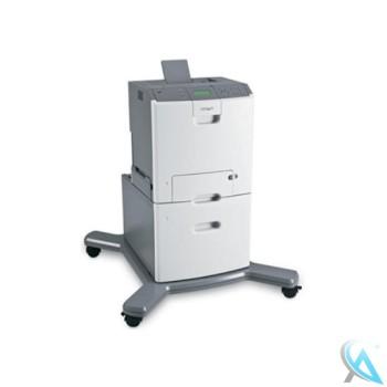 Lexmark C736n Farblaserdrucker mit Zusatzpapierfach 27S2400 OHNE Toner