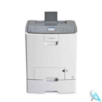Lexmark C746DN gebrauchter Farblaserdrucker mit Zusatzpapierfach 27S2100