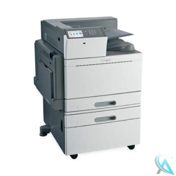 Lexmark C950de gebrauchter Farblaserdrucker auf Rollen