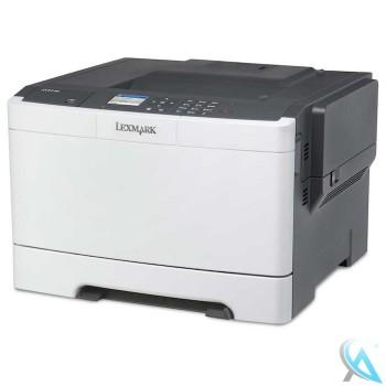 Lexmark CS410n gebrauchter Farblaserdrucker mit neuer Trommel
