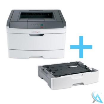 Lexmark E360DTN gebrauchter Laserdrucker mit Papierfach 34S0250