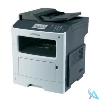 Lexmark MX410DE gebrauchtes Multifunktionsgerät mit 31.650 Seiten mit gebrochener Vorderklappe