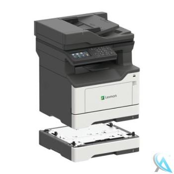 Lexmark MX421ADE gebrauchtes Multifunktionsgerät mit Zusatzpapierfach