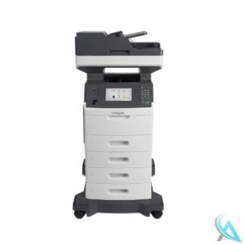 Lexmark MX711de gebrauchtes Multifunktionsgerät mit Papierfach 3x 40G0802 auf Rollen