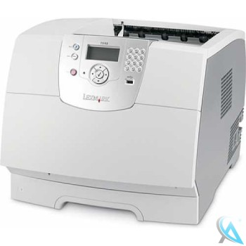 Lexmark T644N gebrauchter Laserdrucker mit neuem Toner