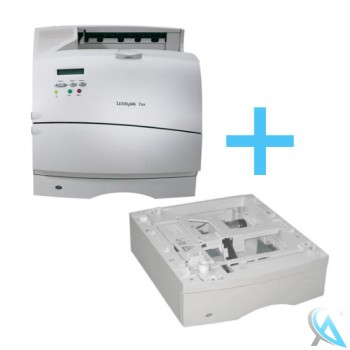 Lexmark T520 gebrauchter Laserdrucker mit Papierfach 11K0688