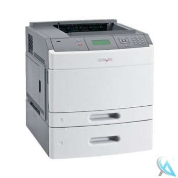 Lexmark T650DTN gebrauchter Laserdrucker mit Zusatzpapierfach 30G0802