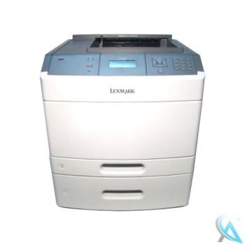 Lexmark T650TN gebrauchter Laserdrucker mit 30G0802 Papierfach OHNE Toner