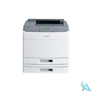 Lexmark T650TN gebrauchter Laserdrucker mit 30G0871 Papierfach OHNE Toner