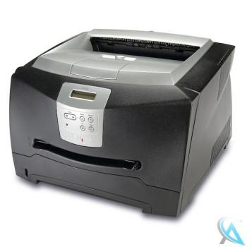 Lexmark E340 Laserdrucker  mit neuem Toner und neuer Trommel