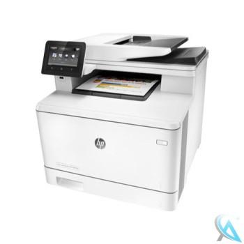 HP Color LaserJet Pro MFP M477fdw generalüberholtes Multifunktionsgerät mit neuem Tonersatz
