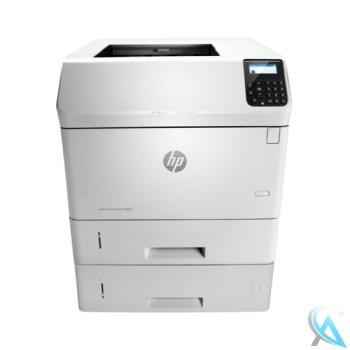 HP LaserJet Enterprise M605dtn Laserdrucker mit Zusatzpapierfach