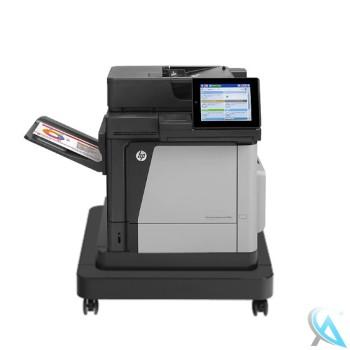 Hp Color Laserjet Enterprise MFP M680dn gebrauchter Multifunktionsdrucker auf Rollen