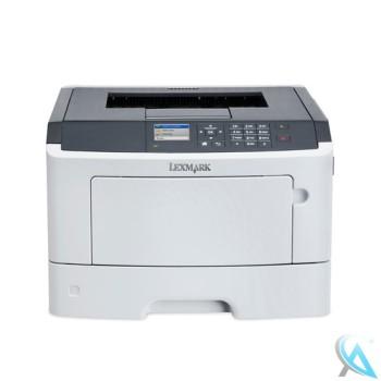 Lexmark MS510DN Laserdrucker mit neuem Toner