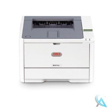 OKI B411D gebrauchter Laserdrucker ohne Toner und ohne Trommel