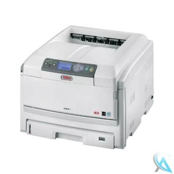 OKI C821DN gebrauchter Farblaserdrucker