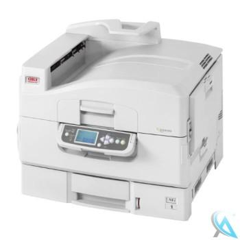 OKI C9650N gebrauchter Farblaserdrucker