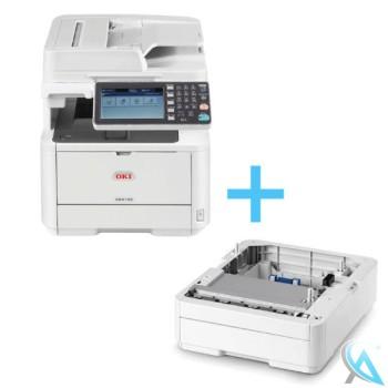 Oki ES4192 MFP gebrauchtes Multifunktionsgerät mit Zusatzpapierfach N22204A
