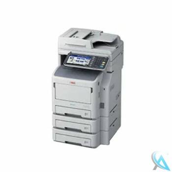 OKI ES7170dn MFP gebrauchtes Multifunktionsgerät mit 2x Zusatzpapierfächer N2240502