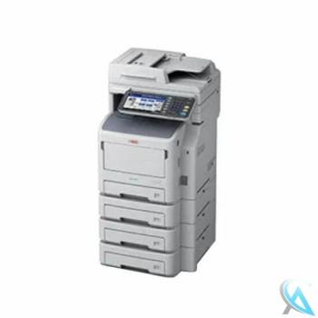 OKI ES7170dn MFP gebrauchtes Multifunktionsgerät mit 3x Zusatzpapierfächer N2240502
