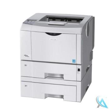 Ricoh Aficio SP 4210N gebrauchter Laserdrucker mit Zusatzpapierfach TK1030 mit neuem Toner