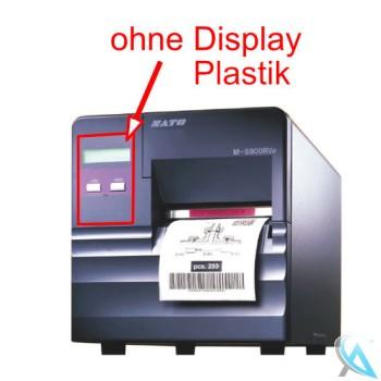 Sato M-5900RVe gebrauchter Thermo Etikettendrucker OHNE Etikettenschneider OHNE Display Plastik