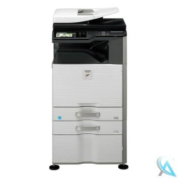 Sharp MX-2614DN Farbkopierer mit Zusatzpapierfach MX-DE12