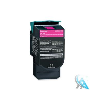 Lexmark original gebrauchter Toner C544X1MG Magenta für C544 C546 X544