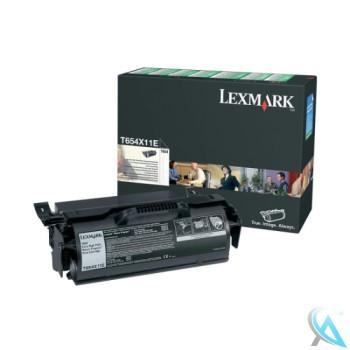 Original Lexmark T650H11E Toner Schwarz