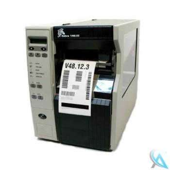 Zebra 140XiII / 140Xi 2 gebrauchter Thermo Etikettendrucker