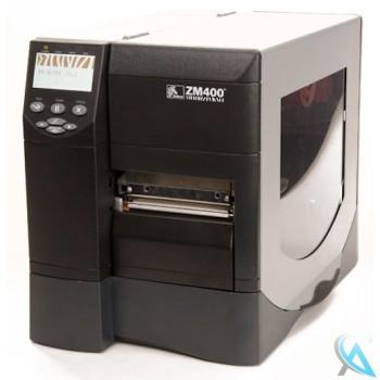 Zebra ZM400 gebrauchter Thermo Etikettendrucker mit USB OHNE Netzwerk