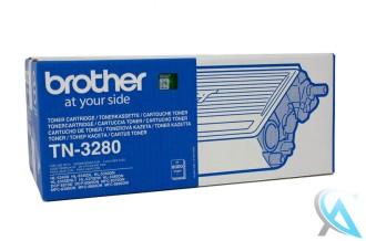 Original Brother TN-3280 Toner Schwarz  für Brother HL-5340DN