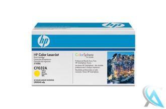 Original HP CF032A, 646A Toner Gelb