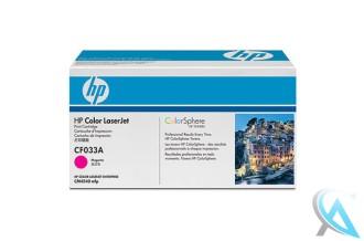 Original HP CF033A, 646A Toner Magenta