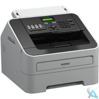 brother-fax-2840 mit neuem Toner und neuer Trommel