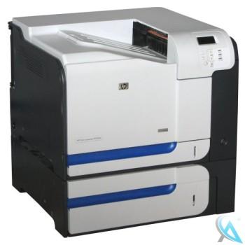 HP Color Laserjet CP3525X gebrauchter Farblaserdrucker