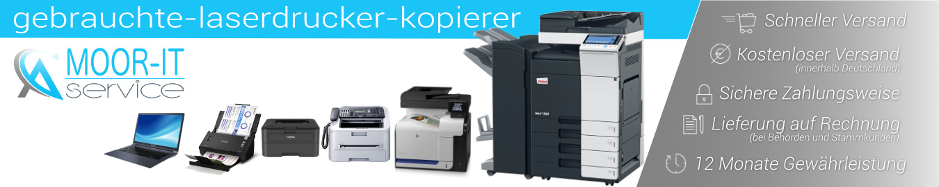 Gebrauchte Drucker Onlineshop Stuttgart – Moor IT-SERVICE